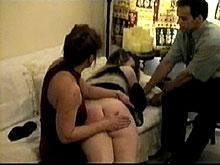 Spanking Videos - the wife starts the spanking