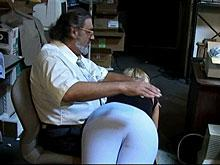 Spanking Videos - She agrees to being spanked