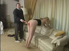 Spanking Videos - Another implement is used