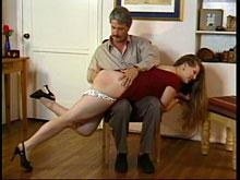 Spanking Videos - Now it's Amanda's Turn to be Spanked