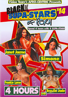 Black Supa-Stars Of Porn #14 Box Cover