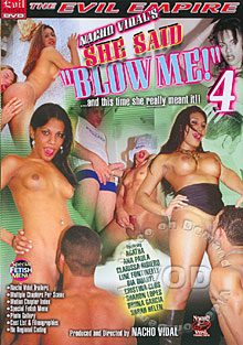 She Said ''Blow Me!'' 4 Box Cover