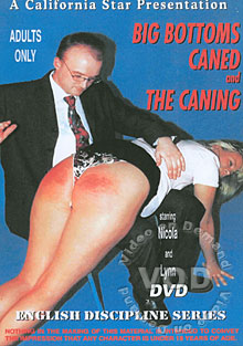 Big Bottoms Caned And The Caning Box Cover