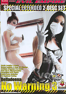 Belladonna: No Warning 3 Box Cover