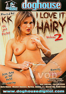 I Love It Hairy Volume 2 Box Cover
