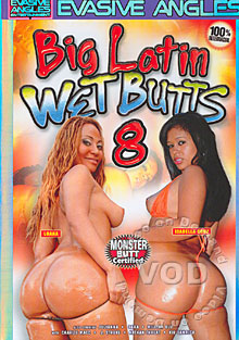 Big Latin Wet Butts 8 Box Cover