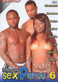 Black Bi Sex Party 6 Box Cover