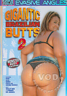 Gigantic Brazilian Butts 2 Box Cover
