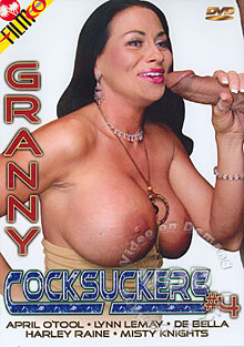 Granny Cocksuckers #4 Box Cover