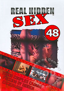 Real Hidden Sex 48 Box Cover
