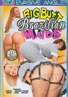 Big Butt Brazilian Maids Box Cover
