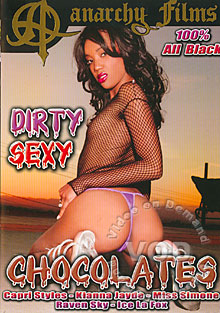Dirty Sexy Chocolates Box Cover