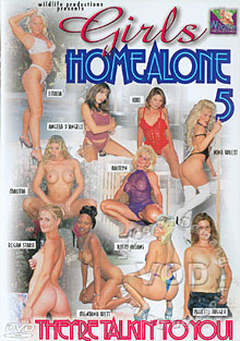 Girls Home Alone 5 Box Cover