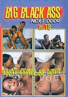 Big Black Ass Next Door Vol. 18 Box Cover