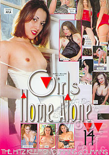 Girls Home Alone 14 Box Cover
