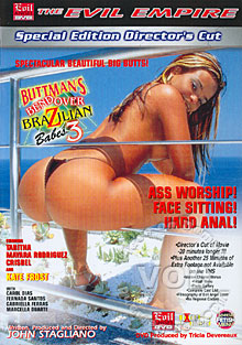 Bend Over Brazilian Babes 3 Box Cover