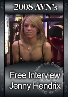 2008 AVN Interview - Jenny Hendrix Box Cover