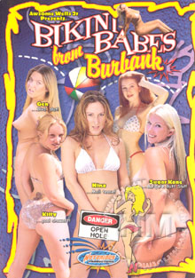 Bikini Babes From Burbank Box Cover