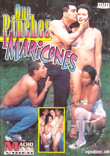 Que Pinches Maricones Box Cover