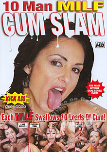 10 Man MILF Cum Slam Box Cover