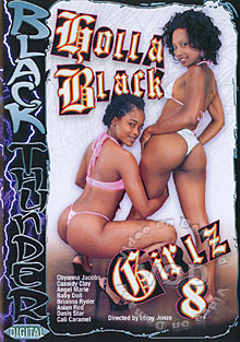 Holla Black Girlz 8 Box Cover