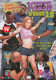 White Trash Whore 28 Box Cover