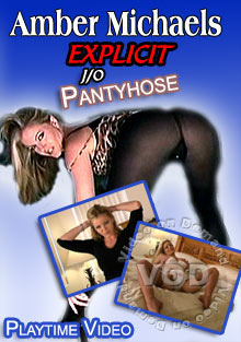 Amber Michaels Explicit JO Pantyhose Box Cover