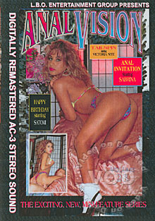 Anal Vision Volume 28 Box Cover