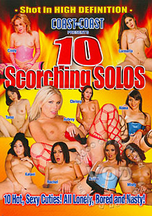 10 Scorching Solos Box Cover