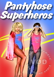Pantyhose Superheroes Box Cover