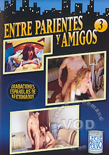 Entre Parientes Y Amigos 3 Box Cover