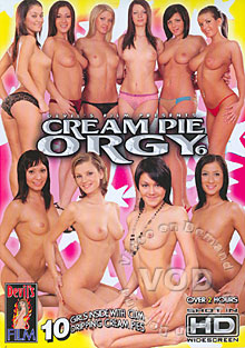 Cream Pie Orgy 6 Box Cover