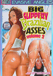 Big Slippery Brazilian Asses Volume 2 Box Cover