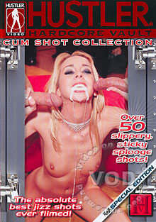 Hustler Hardcore Vault - Cum Shot Collection Box Cover