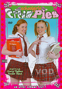 Schoolgirls Cream Pies Box Cover