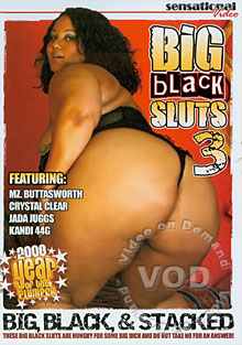 Big Black Sluts 3 Box Cover