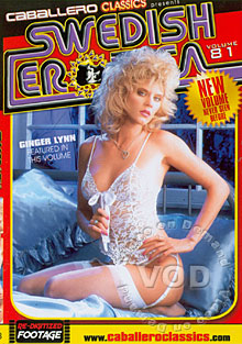Swedish Erotica Volume 81 - Ginger Lynn Box Cover