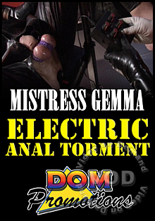 Mistress Gemma - Electrical Anal Torment Box Cover