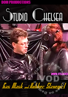 Studio Chelsea - Gas Mask And Rubber Slavegirl Box Cover
