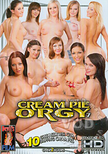 Cream Pie Orgy 7 Box Cover