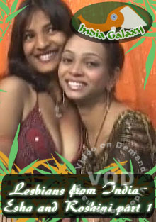 Lesbians From India - Esha and Roshini Part 1 Box Cover