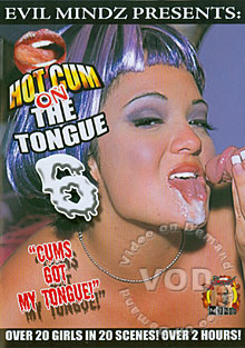 Hot Cum On The Tongue 6 Box Cover