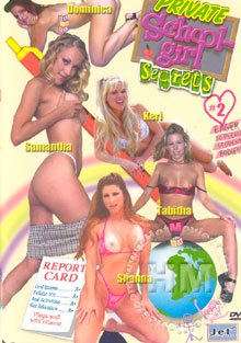 Private School Girl Secrets 2 Box Cover