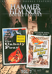 The Unholy Four Box Cover