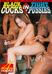 Black Cocks In Tight Pussies Box Cover
