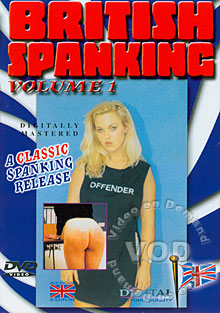 British Spanking Volume 1 Box Cover
