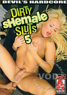 Dirty Shemale Sluts 5 Box Cover