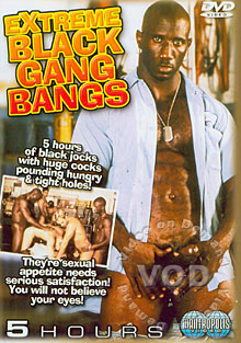 Extreme Black Gang Bangs Box Cover