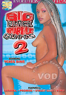 Big Black Bubble Butts 2 Box Cover