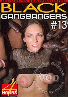 Black Gangbangers #13 Box Cover